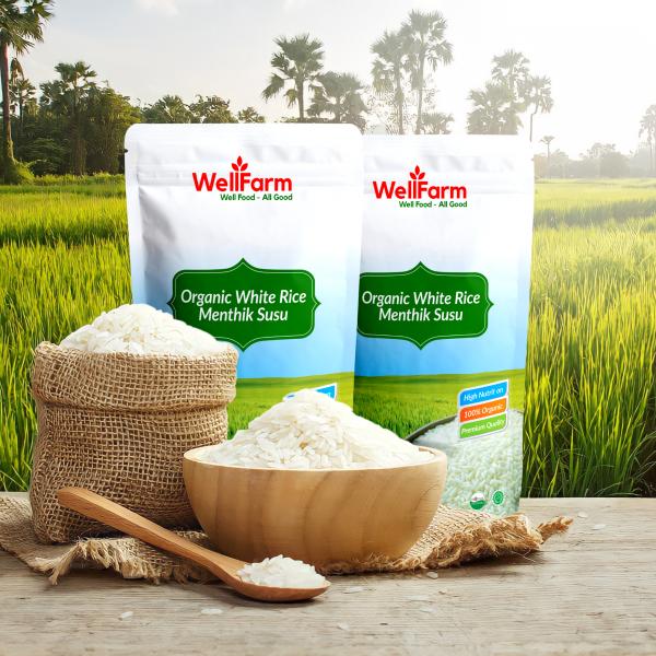 beras organik wellfarm