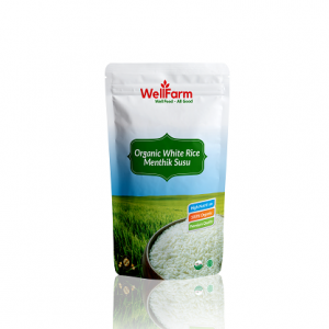 Organic White Rice Menthik Susu Wellfarm