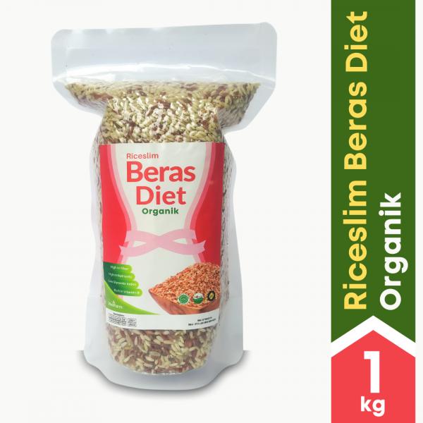 jual Riceslim Beras Diet 1Kg Tampak Depan