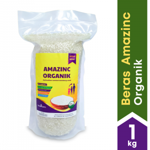 WellFarm Amazinc Rice Organic – Beras Kesehatan Kaya Nutrisi Zinc